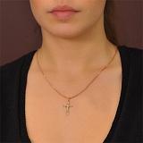 Золотой крестик Мир