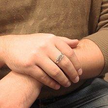 Серебряный перстень Рикард с белым фианитом
