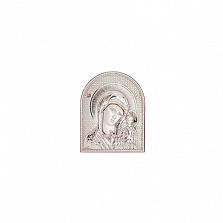 Серебряная икона Казанская