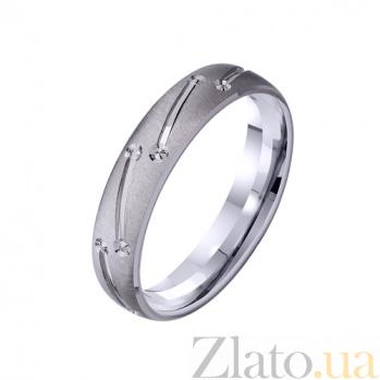 Золотое обручальное кольцо Аккорды любви TRF--422336
