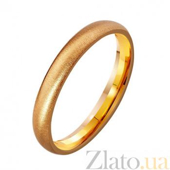 Золотое обручальное кольцо Мелодия нежности TRF--4111118