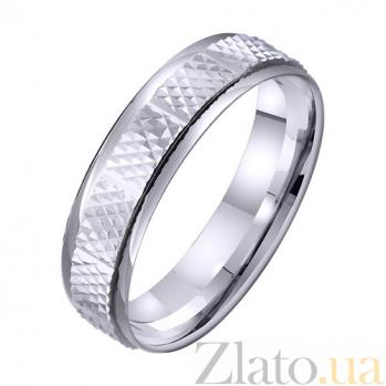 Золотое обручальное кольцо Мгновения вечности TRF--4211325
