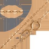 Золотая цепь Глазго, 3мм