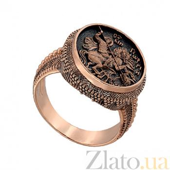 Золотое кольцо Святой Георгий Победоносец VLT--К1007