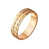 Золотое обручальное кольцо Аннет