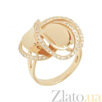 Золотое кольцо с фианитами Бернадетта 2К211-0024