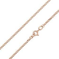 Серебряная позолоченная цепочка Отелло, 1,5 мм 000039021