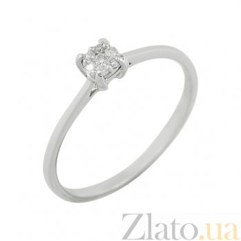 Золотое кольцо с бриллиантами Эмилия 1К551-0181