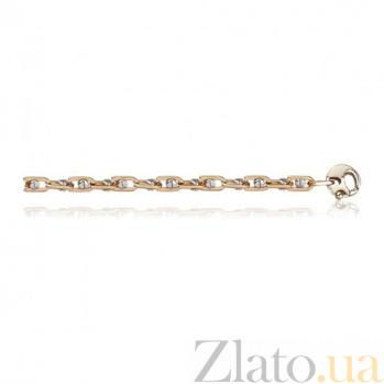 Золотая цепочка Baraka Власть в комбинированном цвете EDM--Ц044