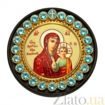 Автомобильная икона на дереве Казанская Богородица 2.79.0061р