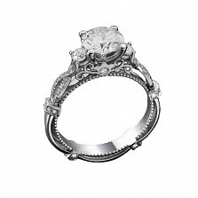 Золотое кольцо с бриллиантами Будур