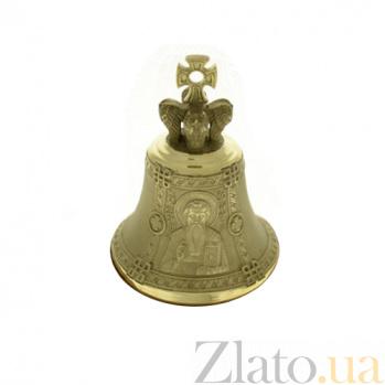 Бронзовый именной колокольчик Св. Василий K5411