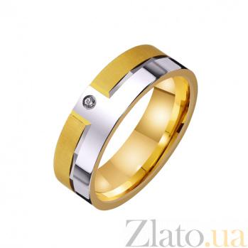 Золотое обручальное кольцо Феромоны любви TRF--4421573