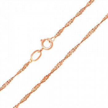Ланцюжок із червоного золота 000104298