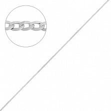 Серебряная цепочка Дантин в плетении гурме, 1мм