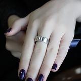 Серебряное кольцо с бриллиантами Иттака