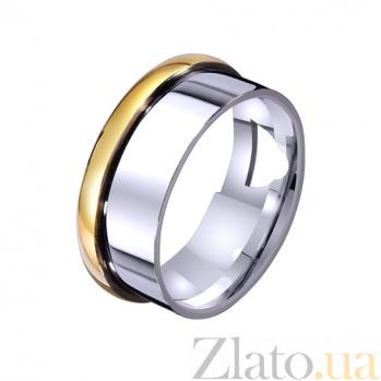 Золотое обручальное кольцо Глянцевый блеск TRF--4411611