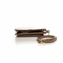 Клатч Italian Bags 8081_taupe Кожаный Таупе