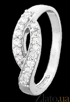 Серебряное кольцо с цирконием Шанталь 000025805
