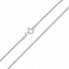 Серебряная цепочка Элегия с родием, 1 мм