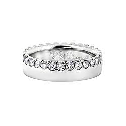 Золотое кольцо с топазами Рыцарь и королева