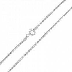 Серебряная цепочка с родием, 1 мм 000025984