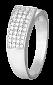 Серебряное кольцо с цирконием Амани 000025736