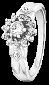 Кольцо из серебра с фианитами Мэри-Энн 000025739