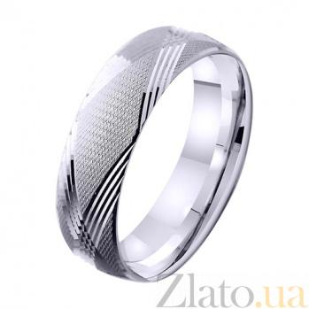 Золотое обручальное кольцо Чистая любовь TRF--421276