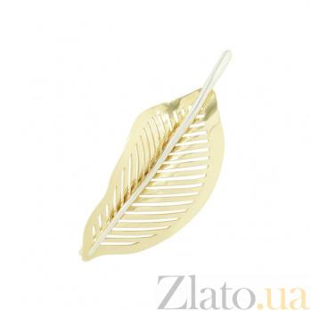 Золотая брошь Флорена 2В088-0003