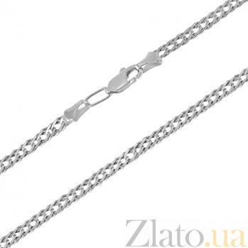 Серебряная цепочка чернёная Рембо, 3мм 000017341