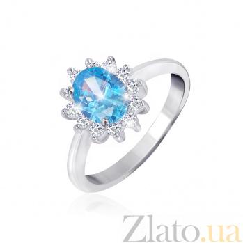 Серебряное кольцо с фианитами Дарла 000025464