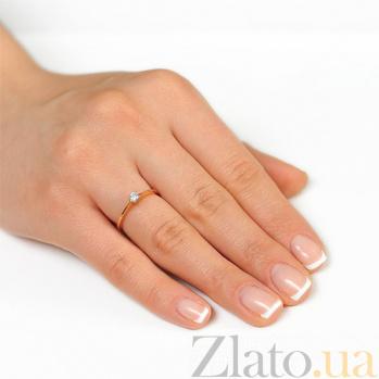 Золотое кольцо с бриллиантом Аниса EDM--КД7493