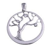Серебряный кулон Дерево жизни