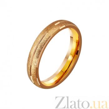 Золотое обручальное кольцо Ты моя жизнь TRF--4111145