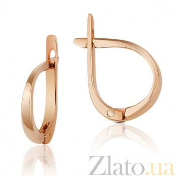 Золотые серьги Халиса EDM--С009