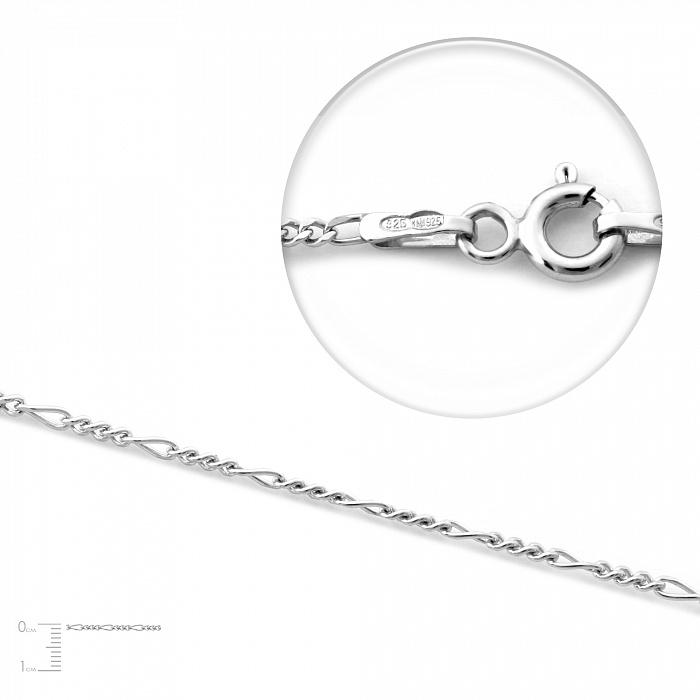 Серебряная цепь Лаки, 1,5 мм 000067390