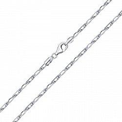 Серебряная цепь в якорном плетении 000132691