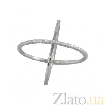 Серебряное кольцо с фианитами Лиана 3К811-0007