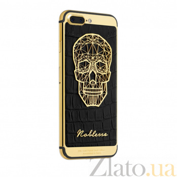 Apple iPhone 7 (128GB) Noblesse Gold Plated Skull 000044212