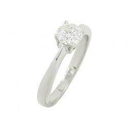 Золотое кольцо с бриллиантом Сельма