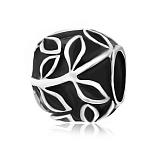 Серебряный подвес-шарм Флорена с чернением
