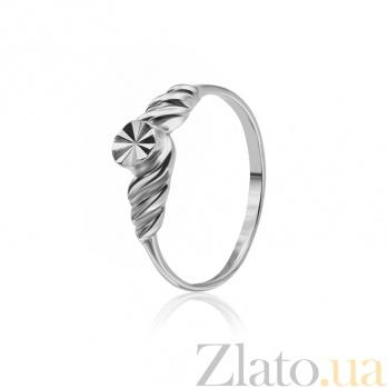 Кольцо из серебра Жизель 000025855