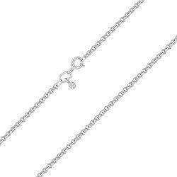Серебряная цепочка в плетении ролло 2 мм 000118032