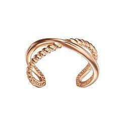 Серьга-каффа из красного золота 000133857