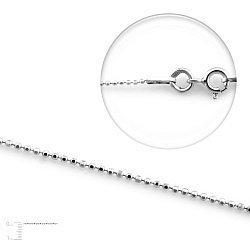 Серебряная цепь, 1 мм 000067381