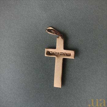 Крестик из золота Силы небесные EDM--КР0105/1