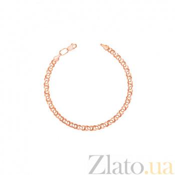 Браслет Укрзолото из красного золота UZ13667