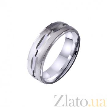 Золотое обручальное кольцо Объятия любви TRF--4211134