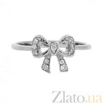 Золотое кольцо с бриллиантами Френч ZMX--RD-00203w